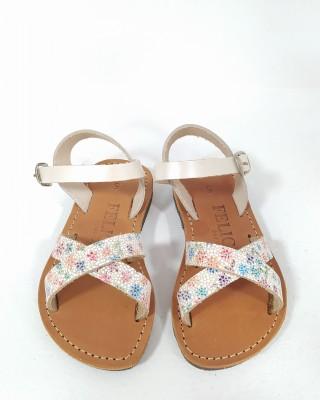 Kids Sandals Floral KS73